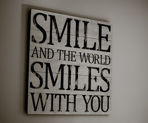 smile, world, and you image