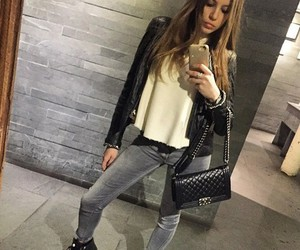 clothes, combination, and fashion image