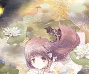 anime and mermaid image