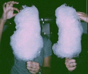 grunge, cotton candy, and pink image