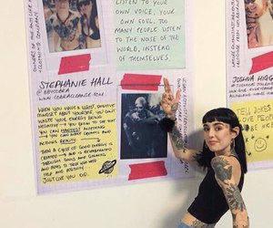 art, tattoo, and hannah snowdon image