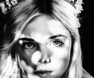Elle Fanning, flowers, and blonde image