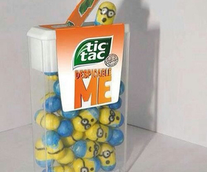 despicable me and tictacs image