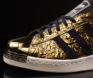 adidas, gold, and OMG image