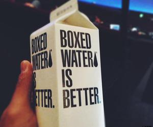 awesome, boxed water, and fashion image
