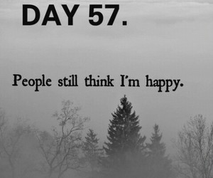 sad, happy, and dark image