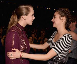 Shailene Woodley, cara delevingne, and paper towns image