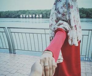 fashion, girl, and hijab image