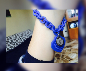 blue, jewellery, and cute image