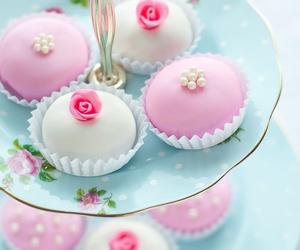 cupcake, sweet, and cake image