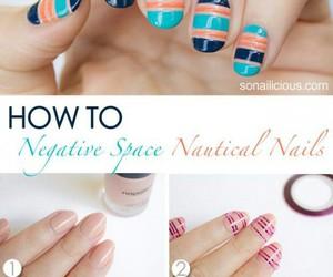 nail art, tutorial, and nails image