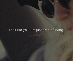 i, i like you, and tired image