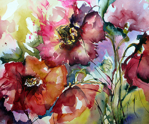 flowers, art, and floral image