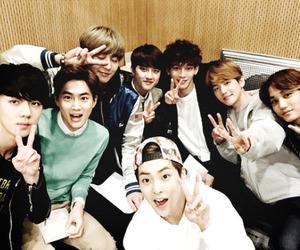 exo, chanyeol, and Chen image