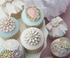 cupcake, pastel, and sweet image