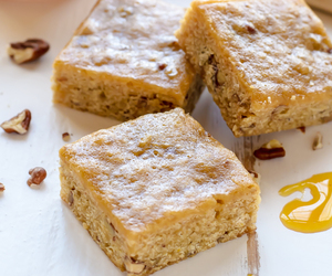 blondies, dessert, and food image