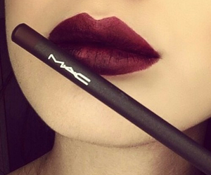 lips, cute, and makeup image
