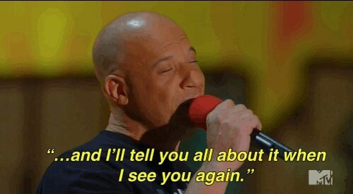 Vin Diesel, see you again, and for paul image