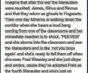 harry potter, marauders, and fred weasley image