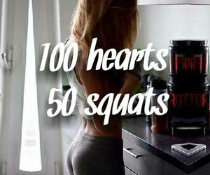 squats, fitness, and goals image