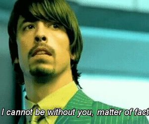 foo fighters and walking after you image