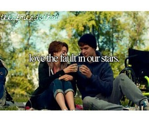 tfios, love, and the fault in our stars image