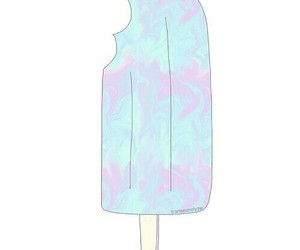 colours, ice cream, and overlay image