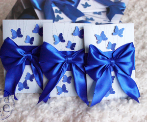 birthday, blue, and butterfly image