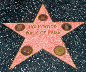 hollywood, Walk of Fame, and los angeles image