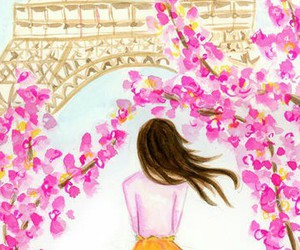 drawing, paint, and paris image