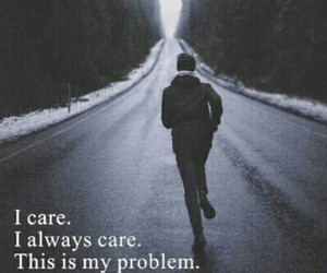 care, grunge, and quote image
