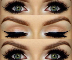 eyes and make up image