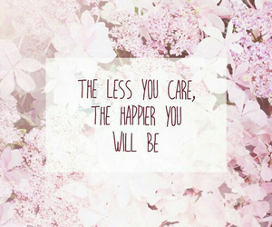 quote, pink, and flowers image