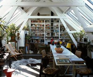 architecture, attic, and interior design image