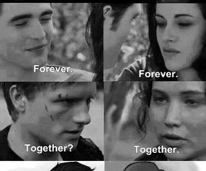 twilight, harry potter, and forever image