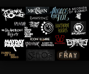 evanescence, mayday parade, and my chemical romance image