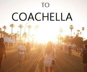 coachella, california, and music image