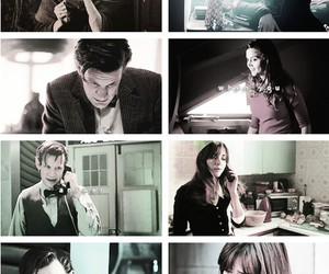 doctor who, clara oswald, and the doctor image