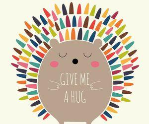 cute, hug, and wallpaper image