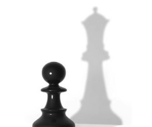 chess, Queen, and pawn image