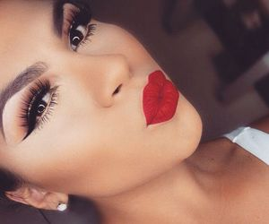 inspiration, red, and make up image