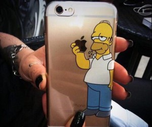 fashion, homer simpson, and iphone 6 image