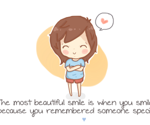 smile, love, and someone special image
