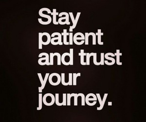 journey, patient, and trust image