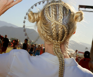 coachella, money, and braids image
