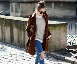 girl, lookbook, and style image