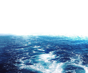 background, blue, and sea image