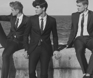 boy, suit, and men image