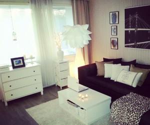 blackandwhite, cozy, and decoration image