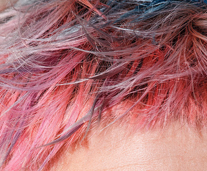 pink, boy, and hair image